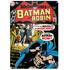 DC Comics Batman and Robin Large Tin Sign: Image 1