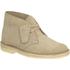 Clarks Originals Women's Suede Desert Boots - Sand: Image 2