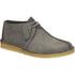 Clarks Originals Men's Desert Trek Leather Boots - Blue/Grey: Image 2