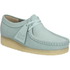 Clarks Originals Women's Wallabee Shoes - Light Blue: Image 2