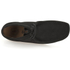 Clarks Originals Men's Wallabee Boots - Black Suede: Image 3