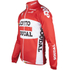 Lotto Soudal Long Sleeve Long Zip Jersey 2016 - Red/White: Image 2