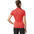 adidas Women's Response Team Short Sleeve Jersey - Shock Red: Image 5