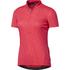 adidas Women's Response Team Short Sleeve Jersey - Shock Red: Image 1