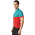 adidas Response Team Short Sleeve Jersey - Vivid Red/Green: Image 4