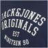 Jack & Jones Men's Seek Crew Neck Sweatshirt - Navy Blazer: Image 3