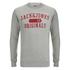 Jack & Jones Men's Seek Crew Neck Sweatshirt - Light Grey Marl: Image 1