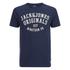 Jack & Jones Men's Seek T-Shirt - Navy Blazer: Image 1
