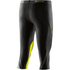 Skins DNAmic Women's Capri Tights - Black/Limoncello: Image 2