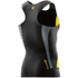Skins DNAmic Men's Sleeveless Top - Black/Citron: Image 2