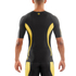 Skins DNAmic Men's Short Sleeve Top - Black/Citron: Image 2
