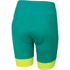 Sportful Gruppetto Women's Shorts - Green/White/Yellow: Image 2