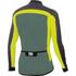Sportful Pista Long Sleeve Jersey - Green/Yellow/Grey: Image 2