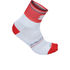 Sportful Gruppetto Pro 12 Socks - White/Red: Image 1
