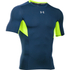 Under Armour Men's HeatGear CoolSwitch Compression Short Sleeve Shirt - Blackout Navy: Image 1
