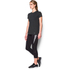 Under Armour Women's Favourite Short Sleeve Crew T-Shirt - Black: Image 4
