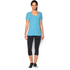 Under Armour Women's Studio Oversized Short Sleeve T-Shirt - Blue: Image 3