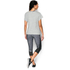 Under Armour Women's Studio Boxy Crew T-Shirt - Grey: Image 5