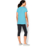 Under Armour Women's Favourite Short Sleeve Crew T-Shirt - Sky Blue: Image 4