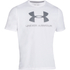 Under Armour Men's Sportstyle Logo T-Shirt - White/Blue: Image 1