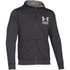 Under Armour Men's Tri-Blend Fleece Hoody - Black: Image 1