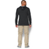 Under Armour Men's Tri-Blend Fleece Hoody - Black: Image 5