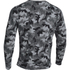 Under Armour Men's Storm Rival Fleece Printed Crew Sweatshirt - Grey: Image 2
