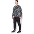 Under Armour Men's Storm Rival Fleece Printed Crew Sweatshirt - Grey: Image 4