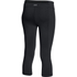 Under Armour Women's Mirror Crop Leggings - Black: Image 2