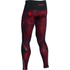 Under Armour Men's Launch Printed Compression Leggings - Red: Image 2