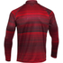 Under Armour Men's Tech Printed 1/4 Zip Long Sleeve Top - Red: Image 2
