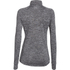 Under Armour Women's Tech 1/2 Zip Twist Long Sleeve Top - Black: Image 2