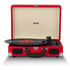 Akai A60011N Rechargeable Turntable and Case - Red: Image 2