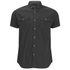 Smith & Jones Men's Pelmet Short Sleeve Shirt - Black: Image 1