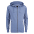 Smith & Jones Men's Palazzo Zip Through Hoody - Midnight Blue Marl: Image 1