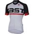 Castelli Meta Short Sleeve Jersey - White/Black: Image 1