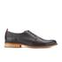 Oliver Spencer Men's Dover Shoes - Black Leather: Image 1
