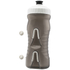 Fabric Cageless Water Bottle (600ml) - Black/White: Image 3