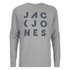 Jack & Jones Men's Core Dylan Crew Neck Sweatshirt - Light Grey Marl: Image 1