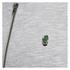 Jack & Jones Men's Originals Lock Baseball Zip Through Sweatshirt - Light Grey Marl: Image 3