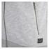 Jack & Jones Men's Originals Lock Baseball Zip Through Sweatshirt - Light Grey Marl: Image 4