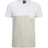 Jack & Jones Men's Originals Tobe 2 Tone T-Shirt - White: Image 1