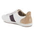 PS by Paul Smith Men's Osmo Leather Low Top Trainers - White Mono Lux: Image 4