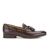H Shoes by Hudson Men's Pierre Croc Leather Tassle Loafers - Brown: Image 1