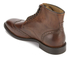 H Shoes by Hudson Men's Greenham Leather Brogue Lace Up Boots - Cognac: Image 4