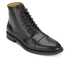 H Shoes by Hudson Men's Seymour Leather Toe Cap Lace Up Boots - Black: Image 2
