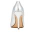 Dune Women's Burst Metallic Court Shoes - Silver: Image 3
