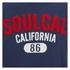 Soul Cal Men's Logo T-Shirt - Navy: Image 3