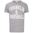 Franklin & Marshall Men's Large Logo T-Shirt - Sport Grey Melange: Image 1