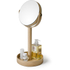 Wireworks Natural Oak Magnify Mirror: Image 5